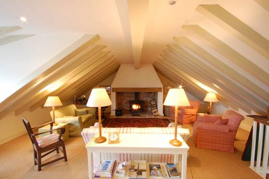 The lounge at Flagstaff Cottage, Burnham Market, Norfolk